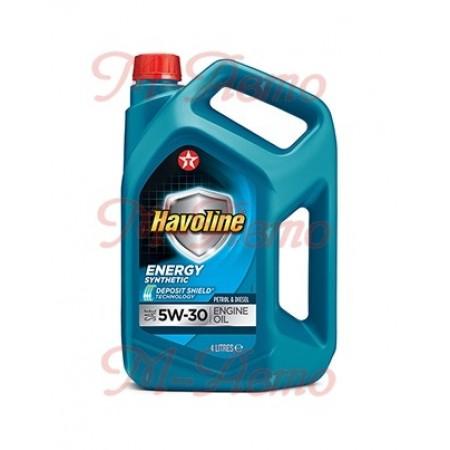 TEXACO HAVOLINE ENERGY 5W30 4л синт