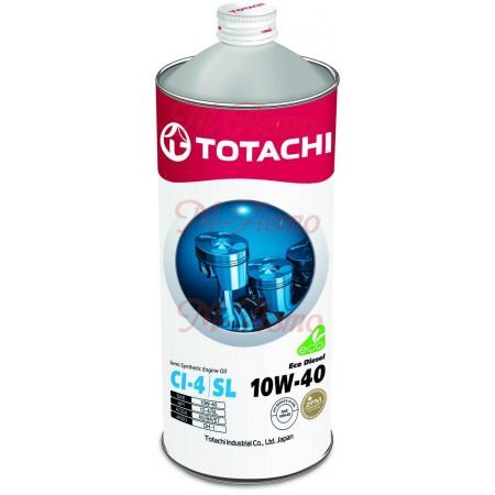 TOTACHI ECO DIESEL CI-4/CH-4/SL 10W40 1л п/с