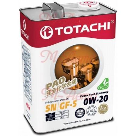 TOTACHI EXTRA FUEL ECONOMY SN 0W20 4л синт