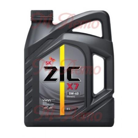 ZIC X7 5W40 4л синт