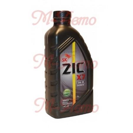 ZIC X7 DIESEL CF/SL A3/B3 5W30 1л синт