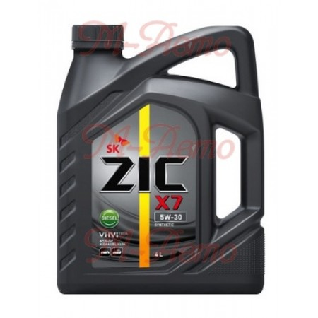 ZIC X7 DIESEL CF/SL A3/B3 5W30 6л синт