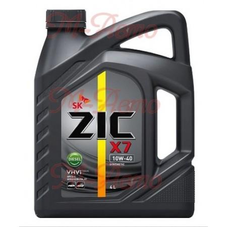 ZIC X7 DIESEL CI-4 10W40 6л синт