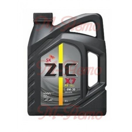 ZIC X7 LS 10W40 6л синт