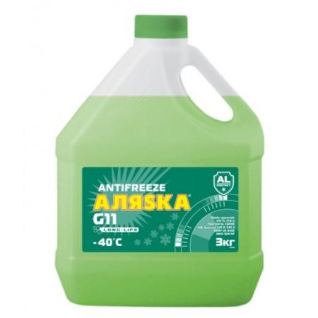 АЛЯСКА Антифриз (зеленый) 3кг