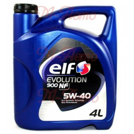 ELF EVOLUTION 900 NF 5W40 4л синт