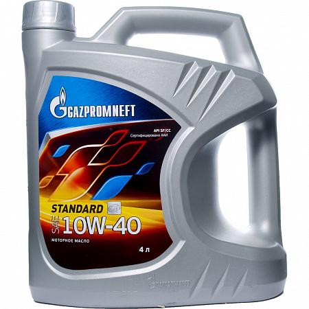 GAZPROM STANDART SF/CC 10W40 4л мин