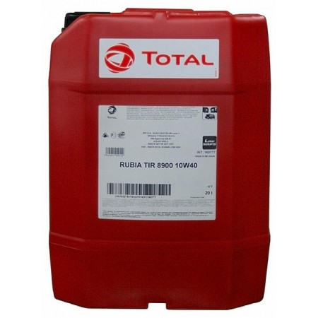 TOTAL RUBIA TIR 8900 10W40 20л синт.