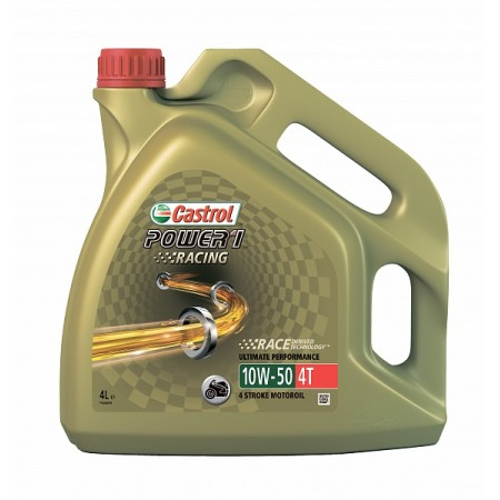 CASTROL POWER 1 RACING 4T 10W50 4л