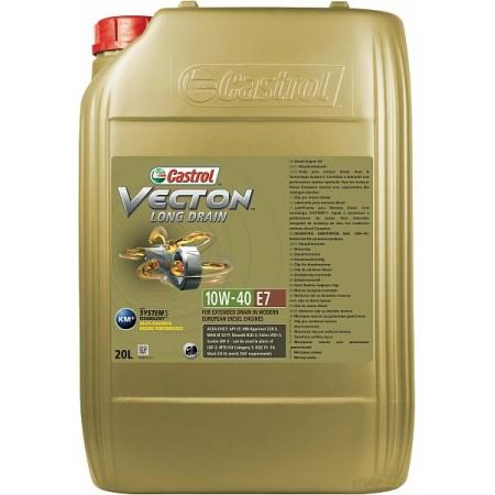 CASTROL VECTON LONG DRAIN E7 10W40 20л