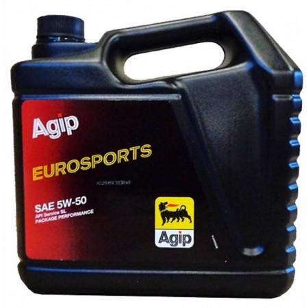 AGIP EUROSPORTS 5W50 SL 4л синт