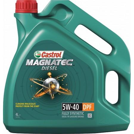 CASTROL MAGNATEC DIESEL DPF 5W40 4л