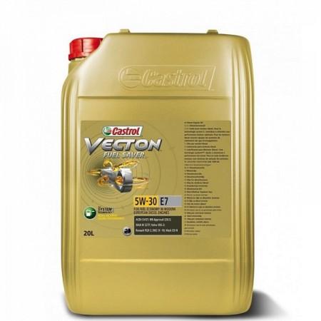 CASTROL VECTON FUEL SAVER E7 5W30 20л синт.