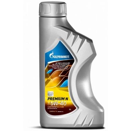GAZPROM PREMIUM N 5W40 1л синт